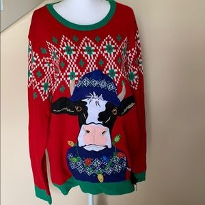 Holiday times ugly sweater